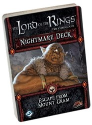 Lord of the Rings - Escape from Mount Gram Nightmare Deck