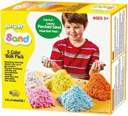 Angel Sand 5-kleuren Grootverpakking