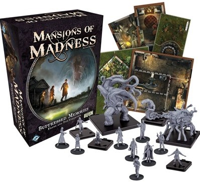 Mansions of Madness 2nd Edition - Suppressed Memories Expansion-2