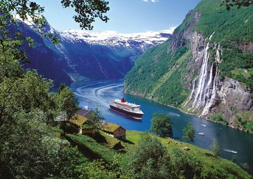 Noorse Fjord Puzzel