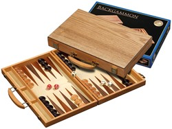 Backgammon Koffer - Kreta Medium