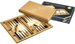 Backgammon Cassette - Milos Groot