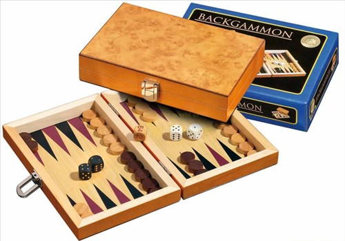Backgammon Cassette - Korinth Mini