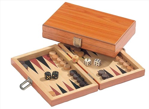 Backgammon Cassette - Peleponnes Mini