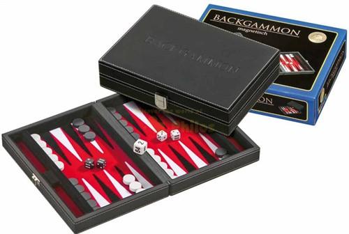 Backgammon Cassette - Tinos Rood Klein
