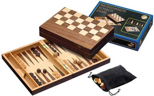 Schaak/Backgammon Koffer