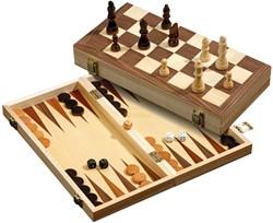 Schaak Backgammon Koffer
