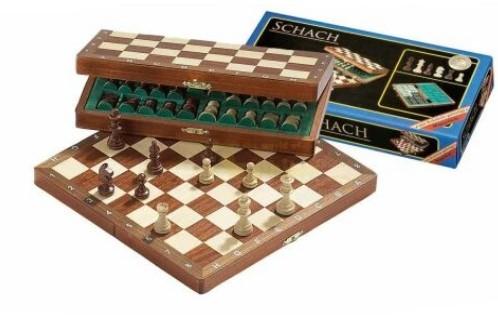 Reis schaak kassette De Luxe