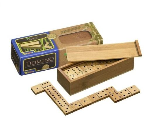 Domino, dubbel 6 (bamboe)