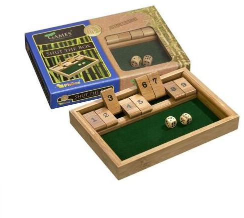 Shut The Box 9 (Bamboe)