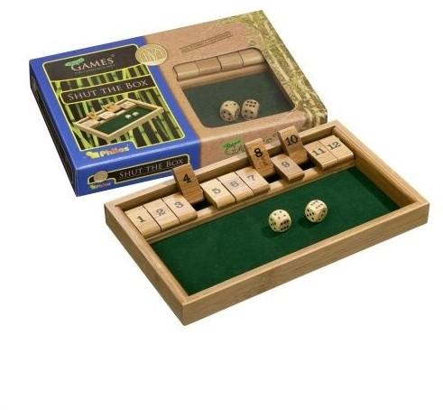 Shut The Box 12 Bamboe