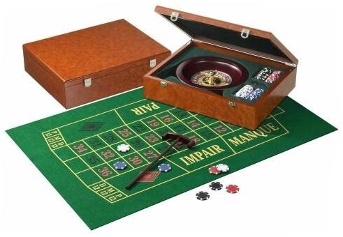 Roulette Set Hout