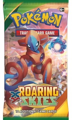 Pokemon XY6 Roaring Skies Boosterpack