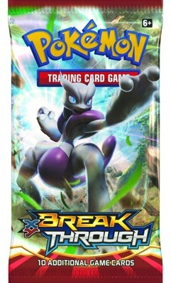 Pokemon TCG XY8 Break Through Boosterpack-2