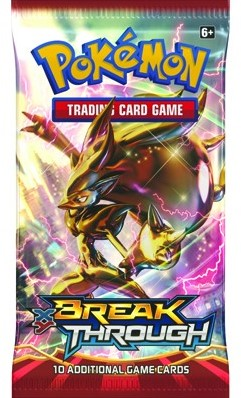 Pokemon TCG XY8 Break Through Boosterpack-3