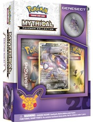 Pokemon 20th Anniversary Mythical Pin Box - Genesect