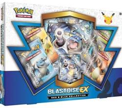 Pokemon 20th Anniversary Red & Blue Collection - Blastoise-EX