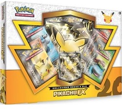 Pokemon 20th Anniversary Red & Blue Collection - Pikachu-EX