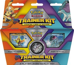 Pokemon TCG Trainer Kit Pikachu Libre & Suicune