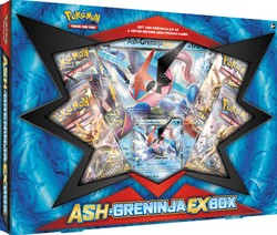 Pokemon TCG Ash-Greninja-EX Box