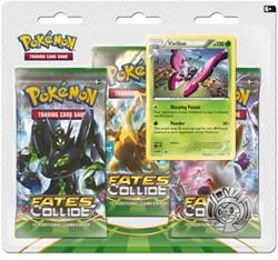 Pokemon TCG XY10 Fates Collide Boosterblister