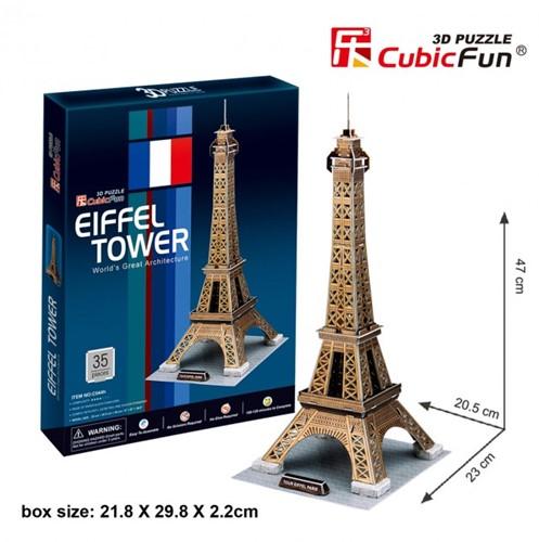 3D Puzzel - Eiffeltoren (35 stukjes)