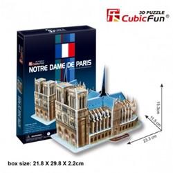 3D Puzzel - Notre Dame de Paris (40 stukjes)