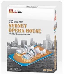 3D Puzzel - Sydney Opera House (30 stukjes)