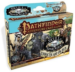 Pathfinder Skull & Shackles Character Add-on Deck