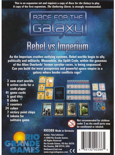 Race for the Galaxy - Rebel vs Imperium-3