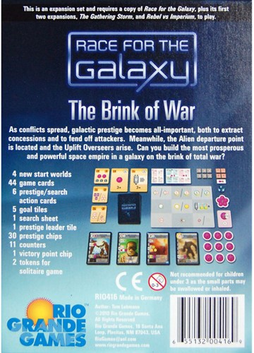 Race for the Galaxy - The Brink of War-2