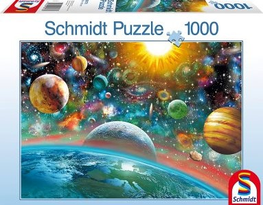 Outer Space Puzzel