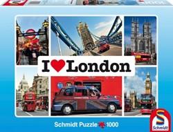 I Love London Puzzel