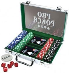 Pro Poker case 200 chips 11,5 gram