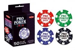 Pro Poker starter set 50 chips 11,5 gram