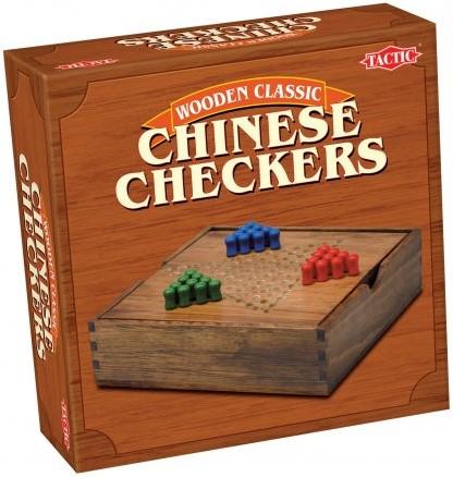 Chinese Checkers in houten box
