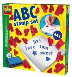 SES Stempelset Letters, Cijfers & Tekens