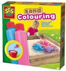 SES Zand Keuren Blauw/Roze