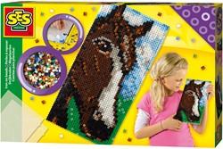 SES Strijkkralen Paard XL