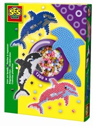 SES Strijkkralenset Dolfijn