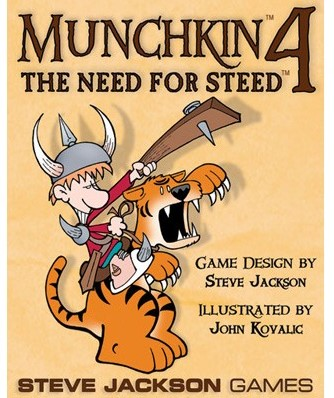Munchkin Expansion 4 The Need For Steed
