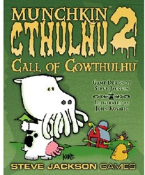 Munchkin Cthulhu Expansion 2 Call Of Cowthulhu