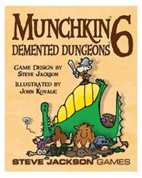 Munchkin Expansion 6 Demented Dungeons