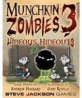 Munchkin Zombies 3 Hideous Hideouts