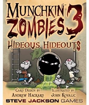 Munchkin Zombies 3 Hideous Hideouts-1