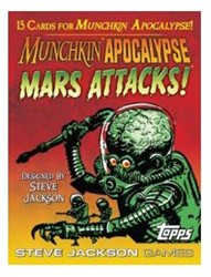 Munchkin Apocalypse Mars Attacks! Boosterpack