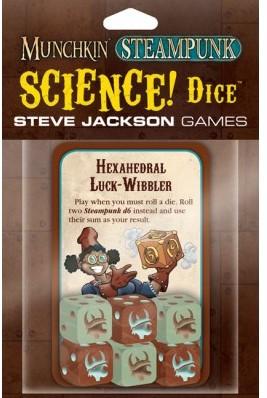 Munchkin Steampunk Science! Dice