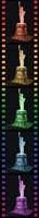 3D Puzzel - Statue of Liberty - Night Edition (108 stukjes)