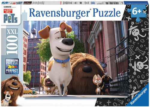 Secret Life of Pets - XXL Puzzel (100 stukjes)