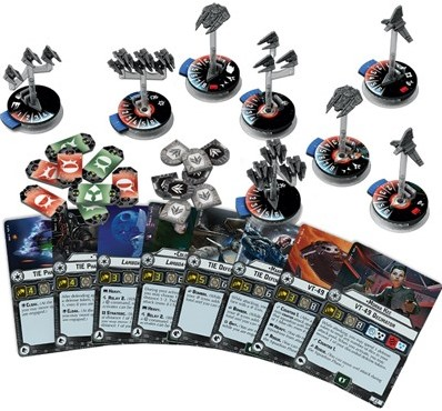 Star Wars Armada - Imperial Fighter Squadrons ll Expansion